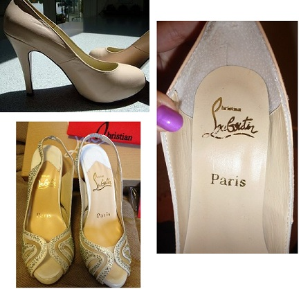 christian louboutin heels authentic