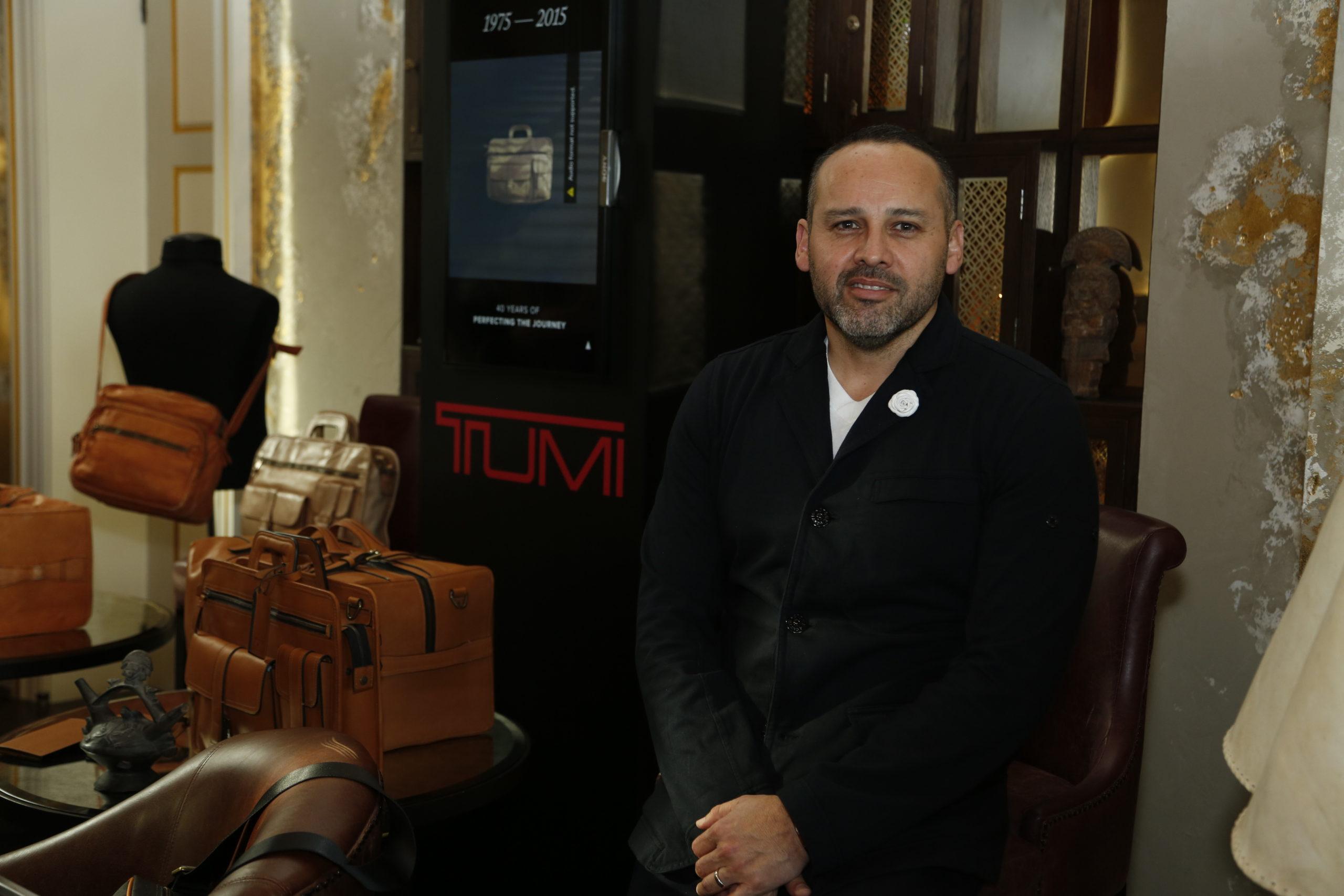 Tumi's Creative Director, Georges Esquivel