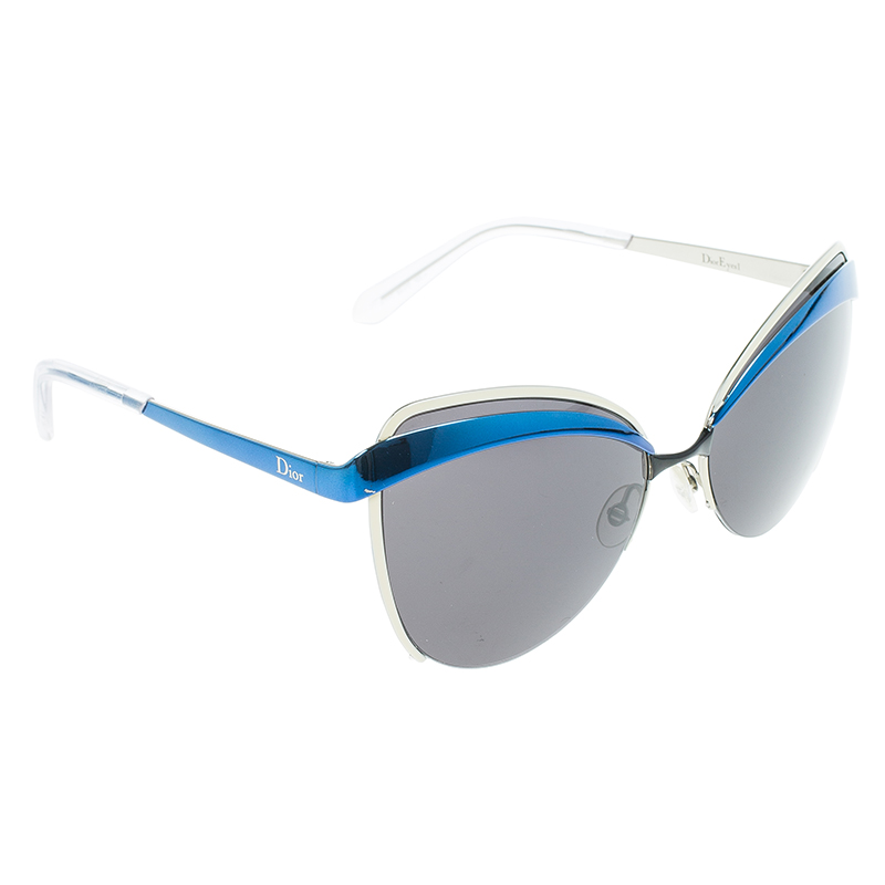 Dior Blue Dior Cat Eye Sunglasses