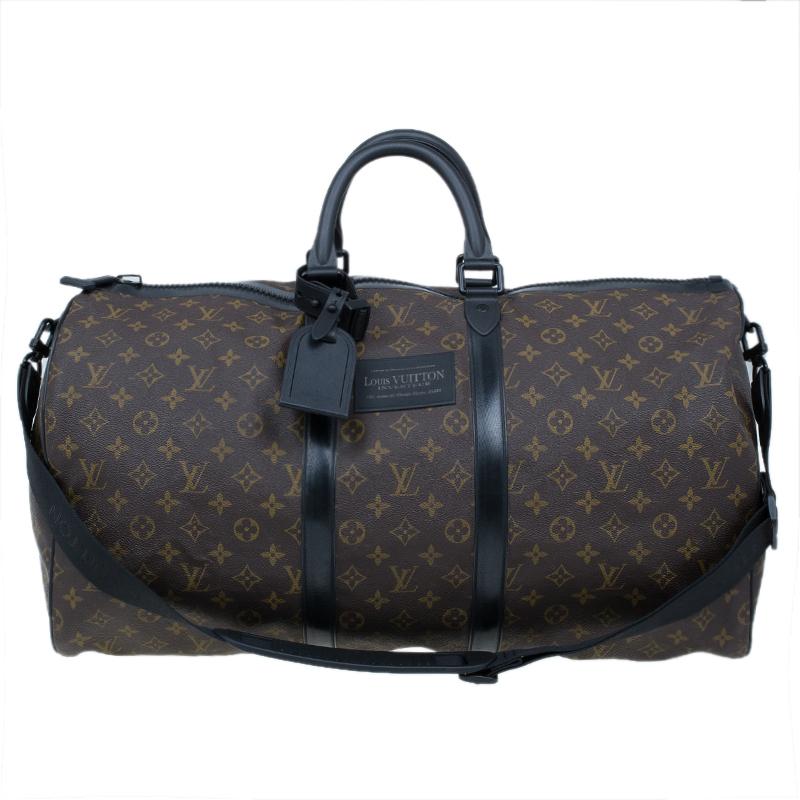 874fd7ea9d Buy Louis Vuitton Monogram Canvas Waterproof Keepall 55 11690 at best price  | TLC