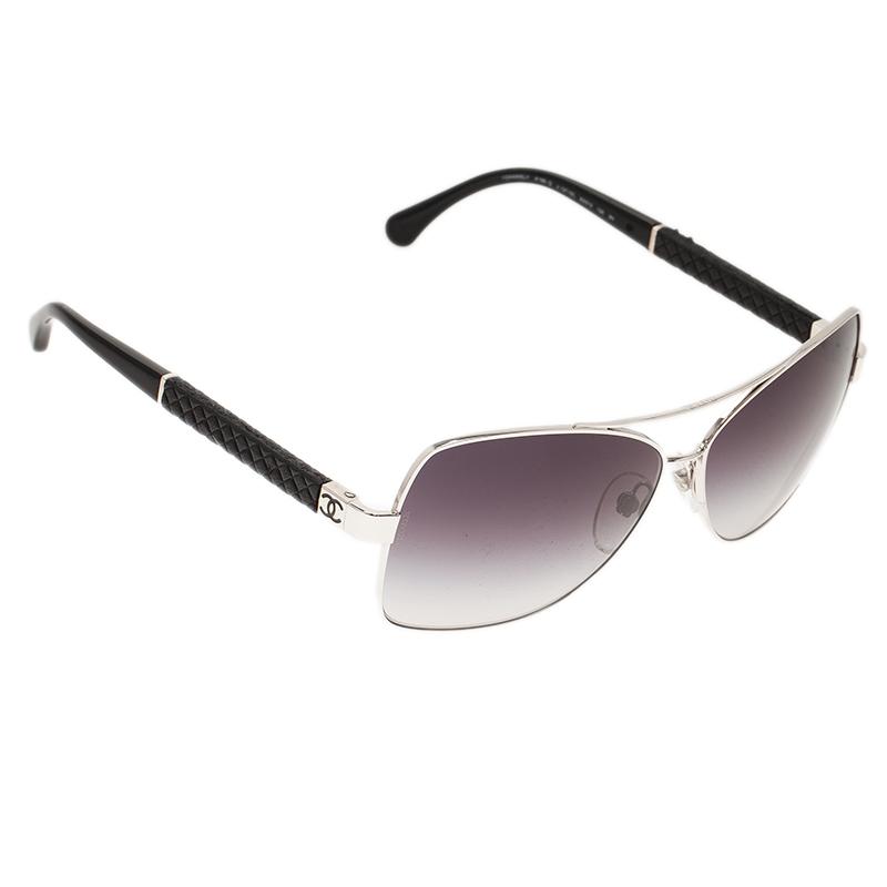 Silver 4196 Rectangle Sunglasses USD 300