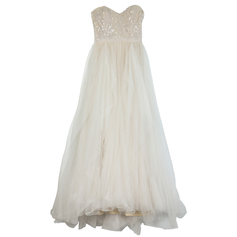 Reem Acra Eternity Wedding Gown M