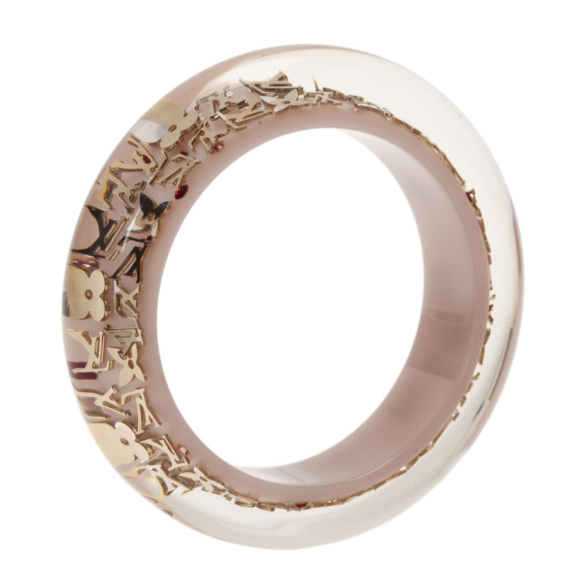 Louis Vuitton White Bangle