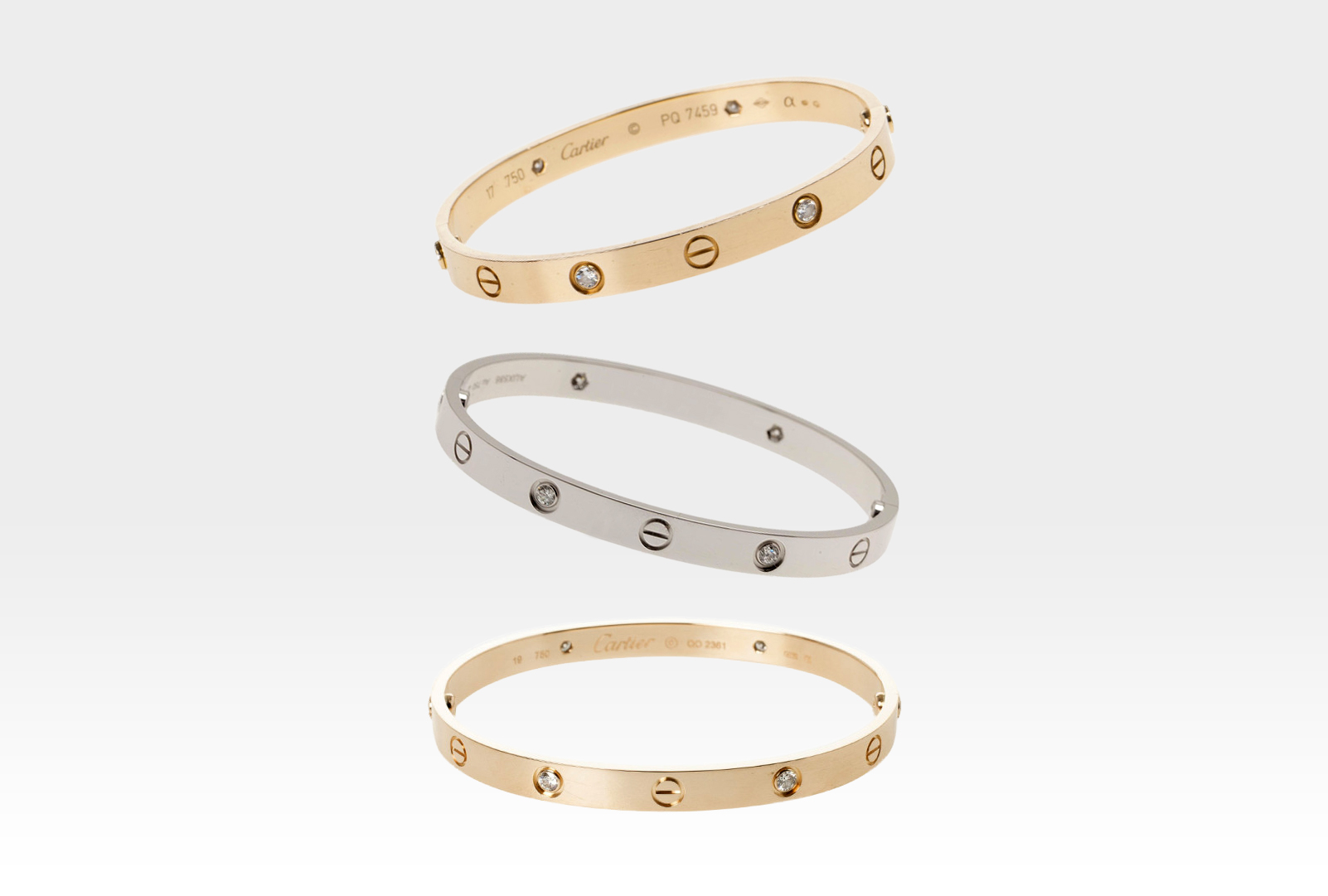 How to Spot A Fake Cartier Love Bracelet - Inside The Closet
