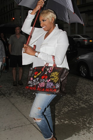 """NeNe Leakes arrives to the """"Watch What Happens Live"""" studio in NYC"""