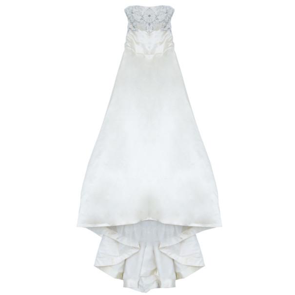 فستان زفاف ريم عكرة مطرز L