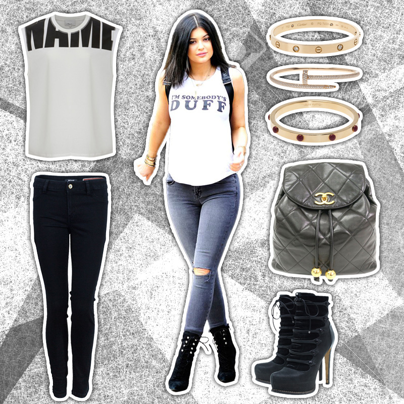 kylie jenner get the look