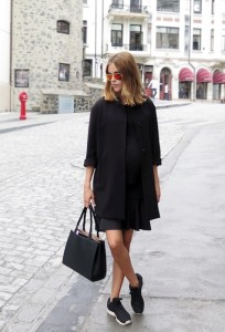 all black street style