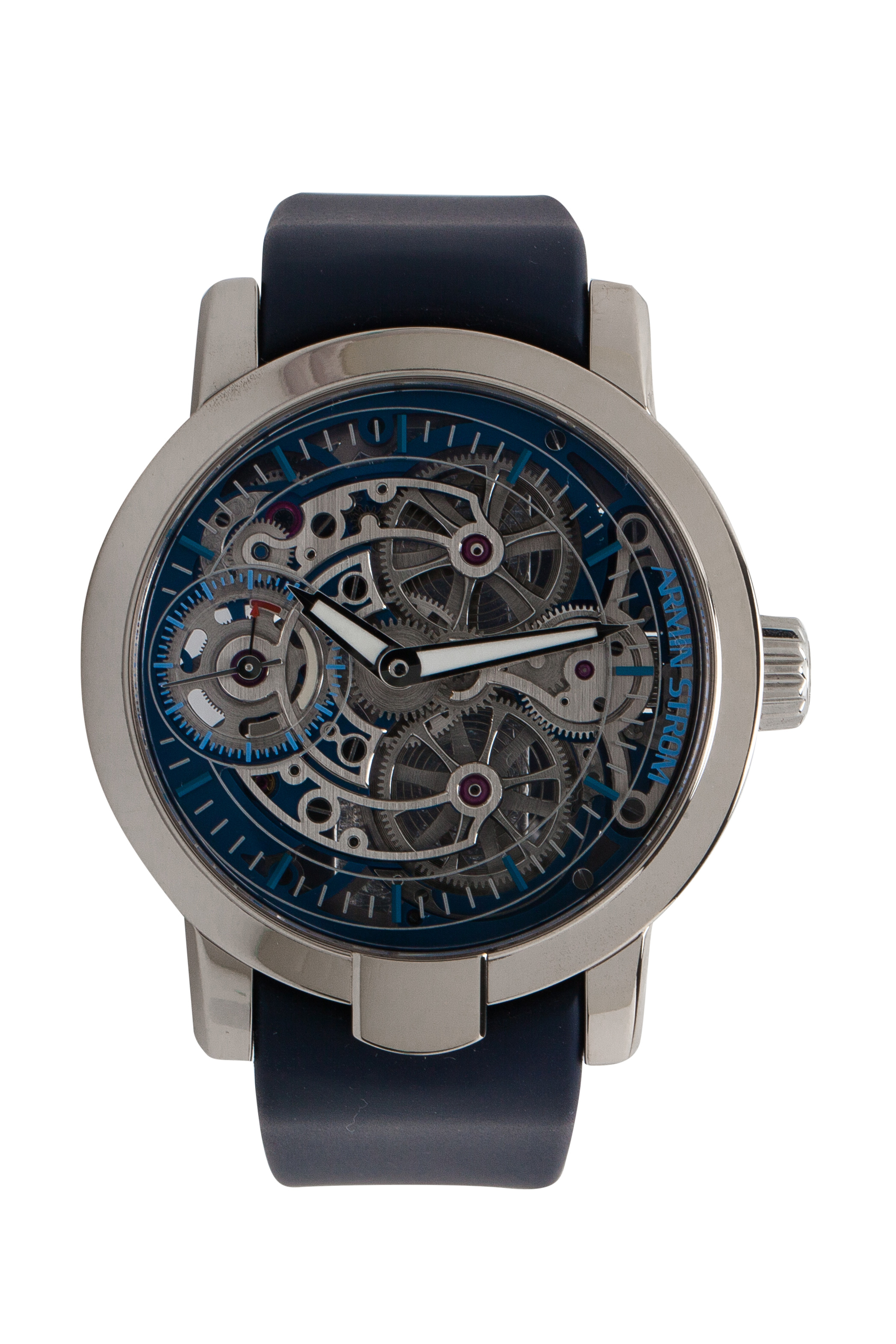 Armin Strom Skeleton White Gold Pure Water Limited Edition No. 50/50 Men's Wristwatch 43MM