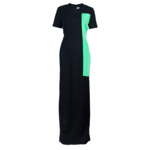 Roksanda Ilincic Clemens Color Block Gown L