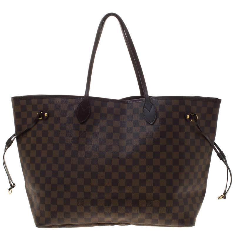 0e4b5ab6847b How to Spot a fake- Louis Vuitton Neverfull bag
